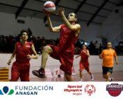 Escuela de baloncesto de Fundación Anagan