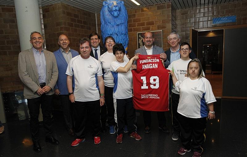 Fundación Anagan y Fundación Basket Zaragoza