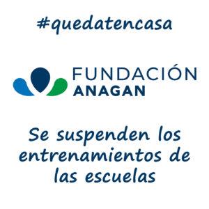 Se suspenden los entrenamientos en las escuelas de la fundación