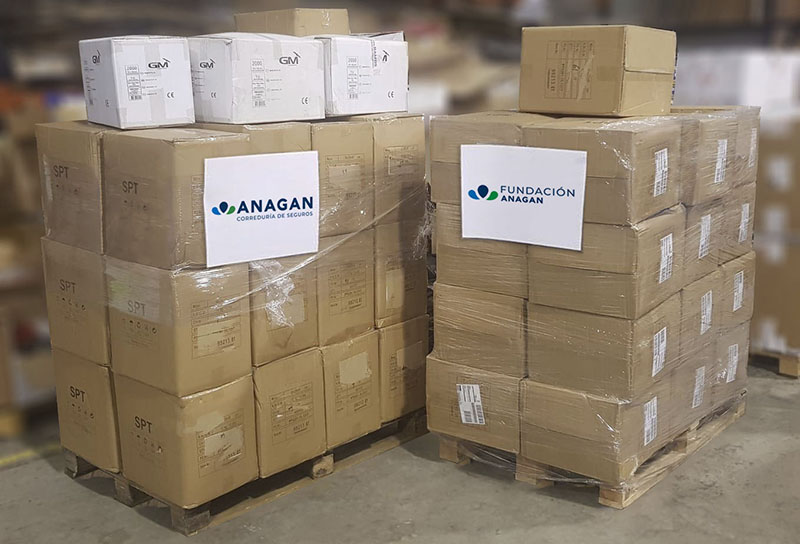Donación Fundación Anagan